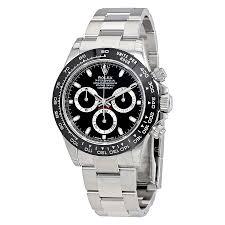 rolex watches jomashop rolex cosmograph daytona black dial stainless steel oyster men s watch