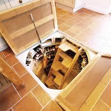 sub floor wine cellar