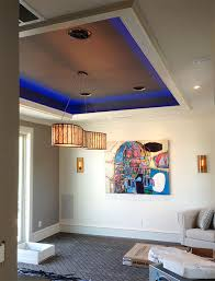 Led Light Strips For Room Gorgeous Interior LED Lighting Using Warm White And RGB LED Strip Lights