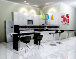 White Floor Kitchen Black And White Kitchen Countertops Beautiful Ceramic Tile Designs