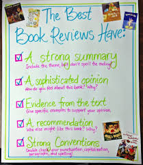 Book Talk Anchor Chart Understanding Audience Writing Book Reviews Scholastic