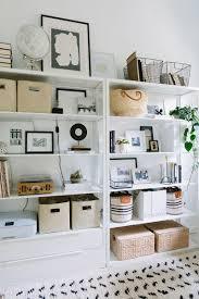 office bookshelves designs. Baskets, Framed, Art, Globe, Accessories The Everygirl Cofounder Alaina Kaczmarski\u0027s Greystone Home. Office BookshelvesOffice Bookshelves Designs