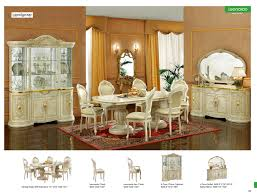 Italian Dining Room Tables Classic Italian Dining Room Furniture By Modenese Gastone Classic