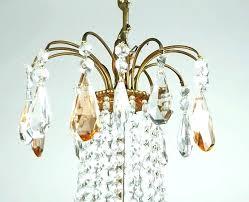 branch chandelier instead of track lighting