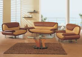 Italian Leather Sofa Brown Leather Livingroom Furniture Living - Small livingroom chairs