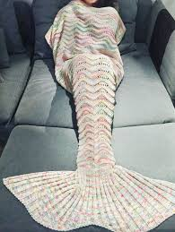 Mermaid Blanket Pattern Unique New 48 48x48cm Gift Mermaid Blanket Pattern Crochet Mermaid Tail