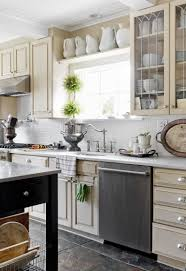 Shelves Above Kitchen Cabinets Open Shelf Kitchen Cabinets View In Gallery Dishes Drinks And