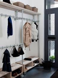 Entryway Wall Mounted Coat Rack Coat Racks interesting wall shelf coat rack Hanging Coat Rack With 62