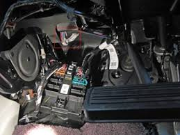brake controller installation for 2007 new body style 2013 gmc the tow package wires are located beneath the steering column to the left of the brake