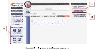 Руководство по использованию информационного электронного ресурса   включенных в Перечень российских рецензируемых научных журналов в которых должны быть опубликованы основные научные результаты диссертаций