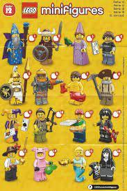 Review: LEGO Minifigures Series 12 Part 1 - Jay's Brick Blog