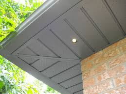 Exterior Recessed Soffit Lighting Out Door Design Outdoor Recessed Lighting