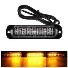 Strobe Light In Store Us 3 18 46 Off 18w 12 24v 6 Leds Strobe Light 18 Modes Ultra Thin Emergency Flash Warning Caution Light For Trucks Cars Motorcycle A30 On Aliexpress