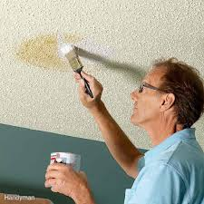 use a stain blocking primer to cover flaws