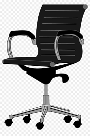 chair clipart black and white. Beautiful And Office Furniture Office Chair Clipart Free Transparent Png 840x1258  Black And White Throughout Chair Clipart Black And White C
