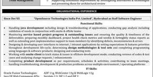 testing resume sample for 2 years experience software testing resume sample testing  resume sample for 3