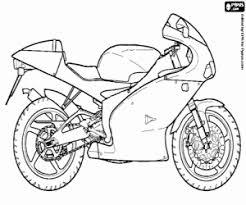 Een Sportieve Motorfiets Aprilia Rs 125 Kleurplaat Kleurplaat