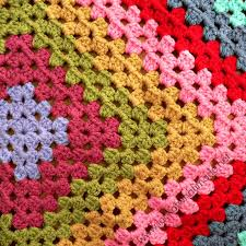 Granny Square Blanket Pattern Extraordinary Mr Lookatwhatimade's Giant Granny Square WIP ⋆ Look At What I Made