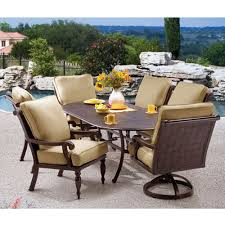 round outdoor dining sets. Creative Of Round Patio Dining Sets For 6  Backyard Remodel Concept Round Outdoor Dining Sets
