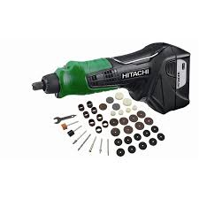 hitachi tool set. hitachi 47-piece variable speed multipurpose rotary tool kit with soft case set n