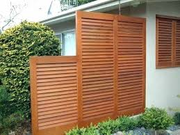 outdoor wooden screen privacy screens wood how to build an with lattice folding outdoor wooden screen