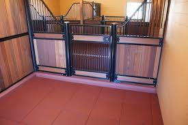 versatile rubber stall flooring