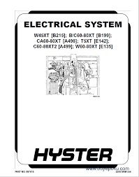 hyster class electric motor hand trucks pdf service manuals the image of hyster class 3 electric motor hand trucks pdf service manuals workshop repair manual