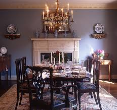 traditional home dining rooms. Jenifer Jordan. Elegant Blue Dining Room Traditional Home Rooms