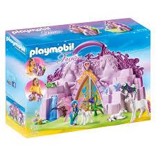 Playmobil Fairies Fairy Unicorn Garden At John Lewis Partners