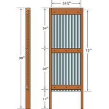 how to build sheet metal fence. Plain How Corrugated Metal Fence Diy  Google Search With How To Build Sheet Metal Fence S