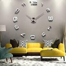 Small Picture Best 10 Mirror wall clock ideas on Pinterest Scandinavian wall