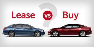 Car Buy Or Lease Nissan Lease Vs Buy Asheboro Nc Greensboro Car Finance