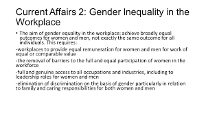 critical thinking on inequality in the workplace today s workplace what s behind the gender inequality in