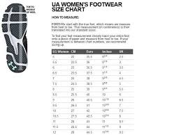 Cheap Under Armor Size Chart Women Buy Online Off74 Discounted