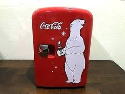 Coca Cola Polar Bear In Bottle Vending Machine Gorgeous Coca Cola Cooler Retro Fridge Vending Machine Lawrdco
