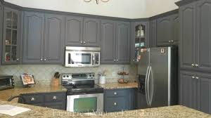 painted gray kitchen cabinetsQueenstown Gray Milk Paint Kitchen Cabinets  General Finishes