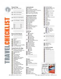 Download a Travel Checklist for Matches   good to know ...