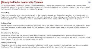 Strengthsfinder Themes Chart Commentary Strengthsfinder And Psychological Type