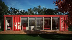 Freight Container Homes In Pictures 1 Of 14 Small Modern Shipping Container  Homes Photo