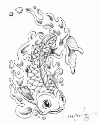 Small Picture Koi Fish Coloring Coloring Pages