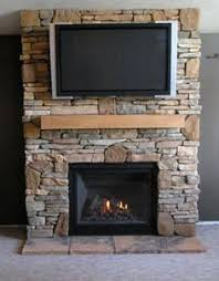 Gas Fireplace Pictures Stone Interior Design Ideas