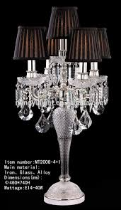 amazing chandelier table lamp crystal with lamps designs 4