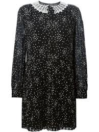 Saint Laurent Короткое <b>Платье</b> '<b>School Girl</b>' - Farfetch