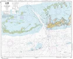 11441 Key West Harbor And Approaches Nautical Chart