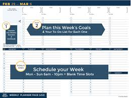 Planner 5 Top Down Planner 2019 All In One Weekly Monthly Planner Goal