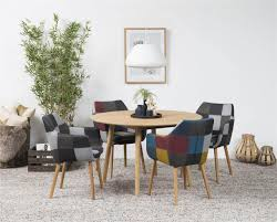 round dining table for 4 pertaining to nagano seater oak room furniture fads decorations 17