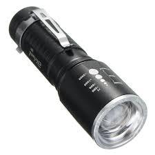 Omega Light Flashlight Elfeland Aluminum Alloy Lightweight Waterproof T6 5 Modes