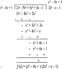 other two zeroes of f x are the zeroes of the polynomial