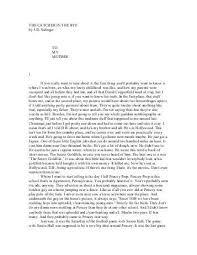 catcher rye research essay casino flashy gq catcher rye research essay
