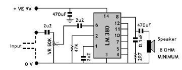 mono amplifier pcb layout